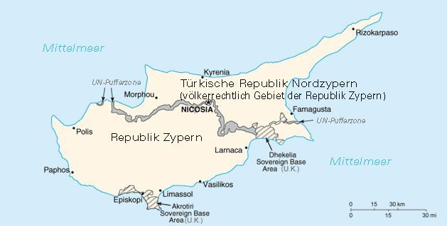 Ausfuhrliche Informationen Fur Reisen Nach Zypern
